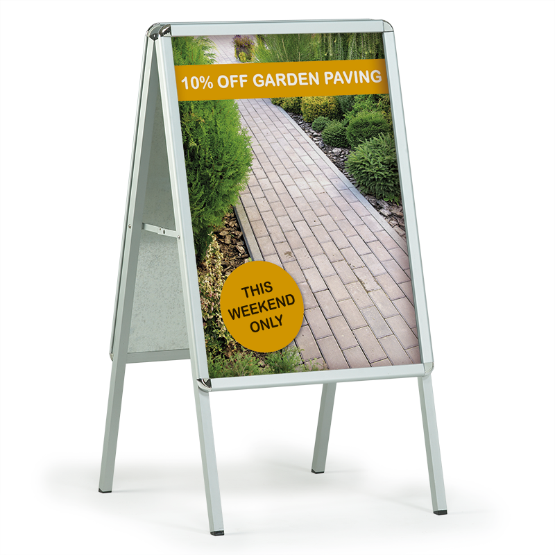 Shop Sign A frame signs & Poster kits available from £52 - The Print ...