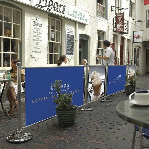 Printed Cafe Barrier