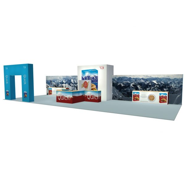 Large exhibition frame